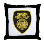 Arizona Corrections Throw Pillow