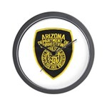 Arizona Corrections Wall Clock