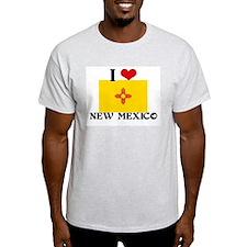 I HEART NEW MEXICO FLAG T-Shirt