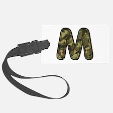 M Army Luggage Tag
