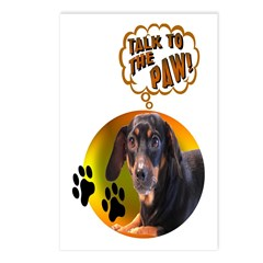 Dachshund Paw Postcards (Package of 8)