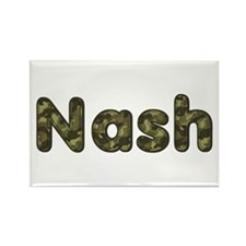 Nash Army Rectangle Magnet