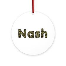 Nash Army Round Ornament