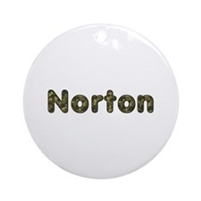 Norton Army Round Ornament