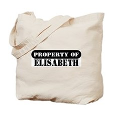 Property of Elisabeth Tote Bag