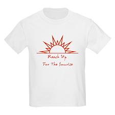 Sunrise/White Kids T-Shirt