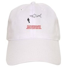 Great White Shark Man Baseball Cap