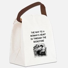 BOOKS18 Canvas Lunch Bag