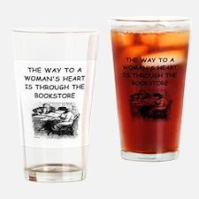 BOOKS18 Drinking Glass
