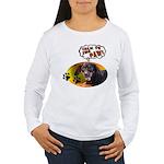 Dachshund Paw Women's Long Sleeve T-Shirt
