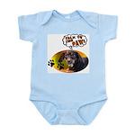 Dachshund Paw Infant Bodysuit