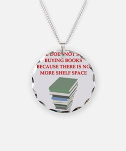 BOOKS8 Necklace