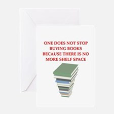 BOOKS8 Greeting Card