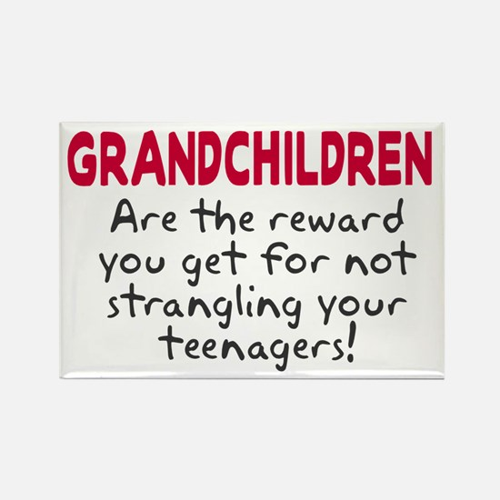 Grandchildren Reward Rectangle Magnet