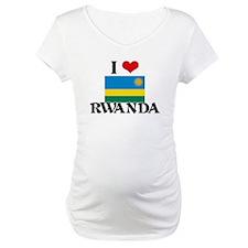I HEART RWANDA FLAG Shirt