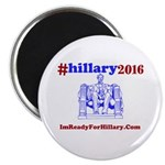 """#Hillary2016 Hash Tag 2.25"""" Magnet (100 pack)"""
