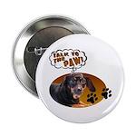 Dachshund Paw Button