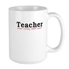 Teacher. Dreamer. Visionary. Idealist. Achiever. L