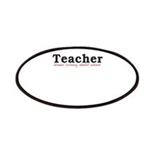Teacher. Dreamer. Visionary. Idealist. Achiever. P