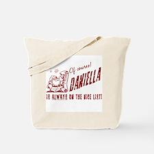 Nice List Daniella Christmas Tote Bag