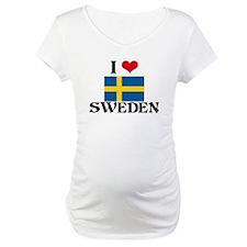 I HEART SWEDEN FLAG Shirt