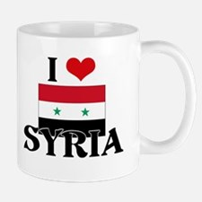 I HEART SYRIA FLAG Mug