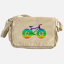 Rainbow fatbike Messenger Bag