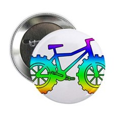"Rainbow fatbike 2.25"" Button"
