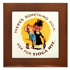 Tioga Rye Framed Tile