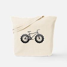 Chrome Fatbike logo Tote Bag