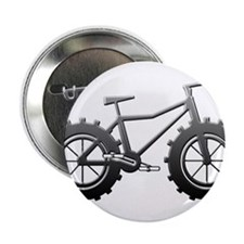 "Chrome Fatbike logo 2.25"" Button"