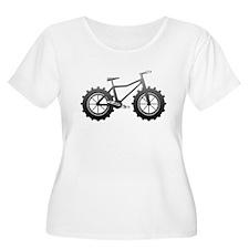 Chrome Fatbike logo Plus Size T-Shirt