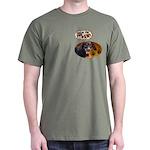 Dachshund Paw Dark T-Shirt