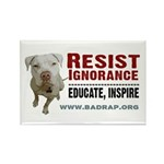 Resist Ignorance Rectangle Magnet (100 pack)