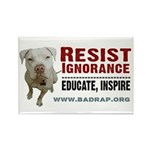 Resist Ignorance Rectangle Magnet (10 pack)