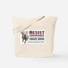 Resist Ignorance Tote Bag