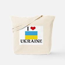 I HEART UKRAINE FLAG Tote Bag