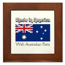 Australian Parts Framed Tile