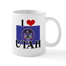 I HEART UTAH FLAG Mug