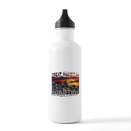 Great American Road Trip Water Bottle