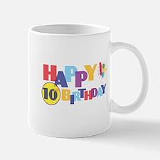 Happy 10th Birthday Mug