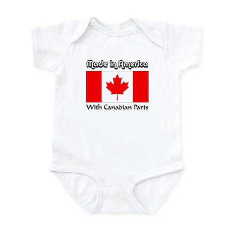 Canadian Parts Infant Bodysuit