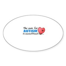 The Cure for Autism is Decal
