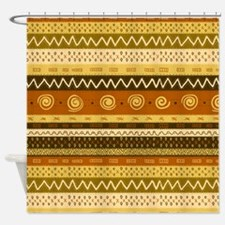 African Pattern Shower Curtain