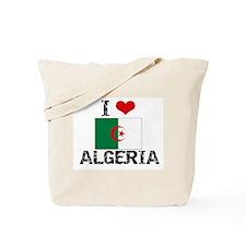 I HEART ALGERIA FLAG Tote Bag