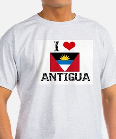 I HEART ANTIGUA FLAG T-Shirt