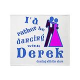 Derek hough Fleece Blankets
