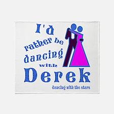 Dancing With Derek Throw Blanket