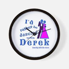 Dancing With Derek Wall Clock