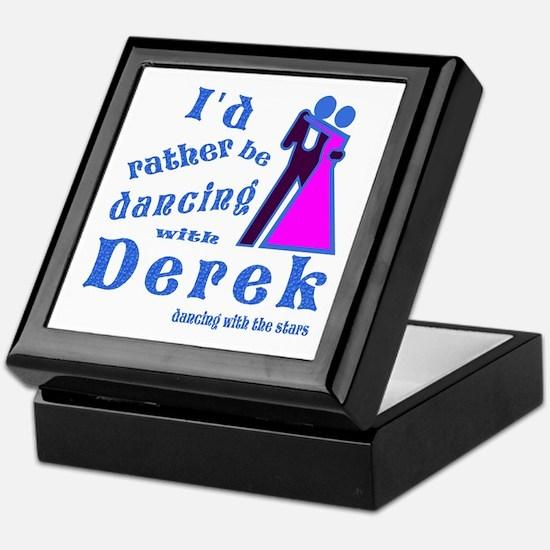 Dancing With Derek Keepsake Box